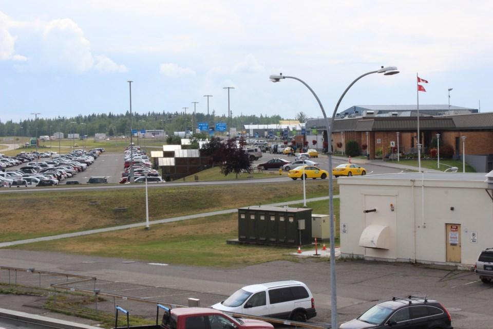 YXS Airport landscape view