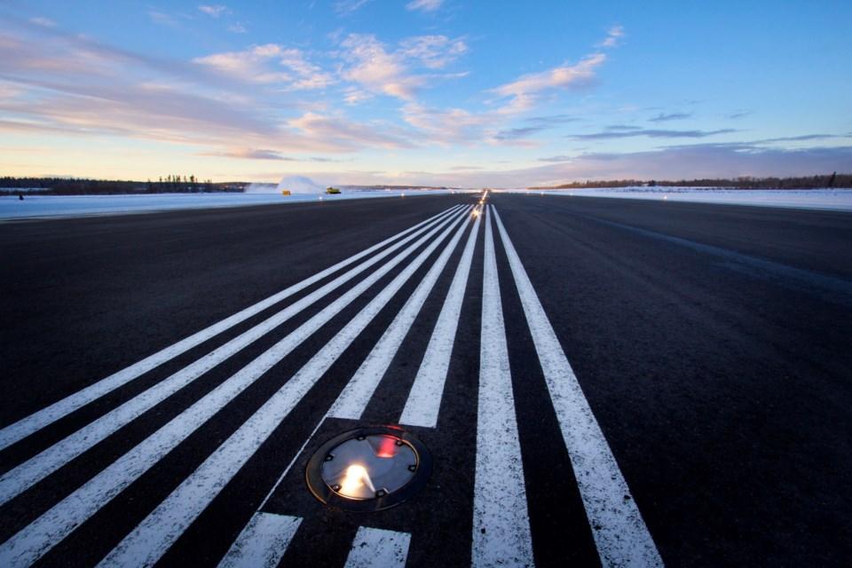 YXS Airport Runway