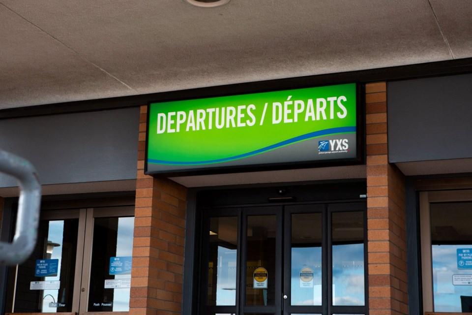 YXS departures