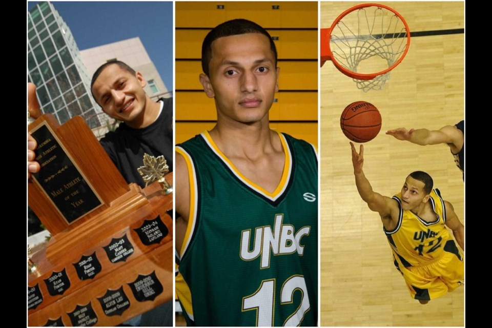 Inderbir Gill has been named as the first inductee to the UNBC Timberwolves Wall of Honour on Feb. 19, 2021.