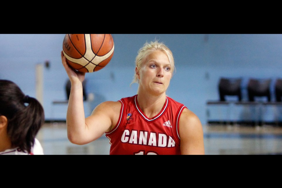 Kady Dandeneau, an alumni of UNBC women's basketball, has been in Canada's national wheelchair basketball program since 2015 (via Wheelchair Basketball Canada)
