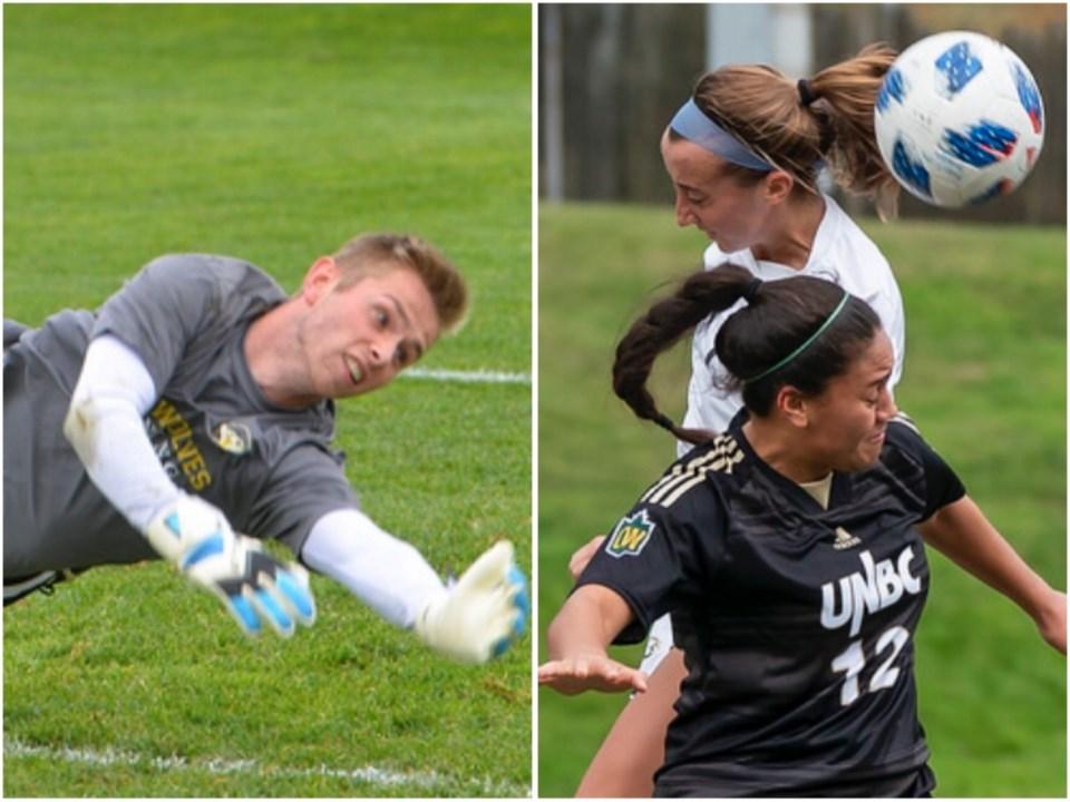 UNBC Men's and Women's soccer