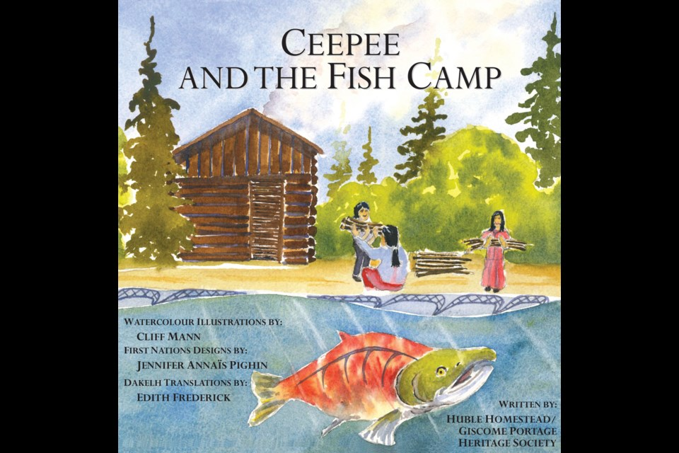 This is the latest book in the children's history series presented by the Huble Homestead/Giscome Portage Society.