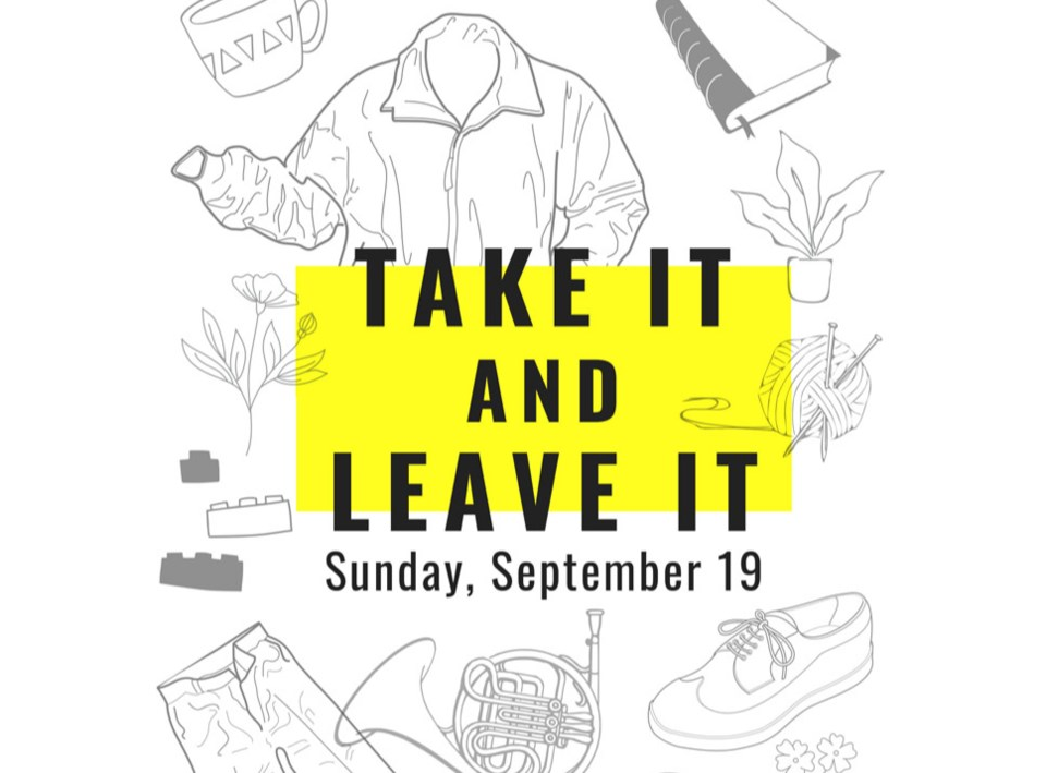 Take it and leave it Two Rivers Gallery