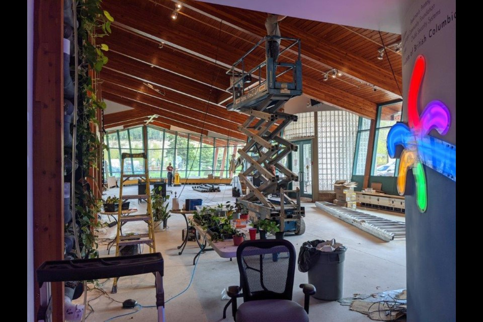 The Exploration Place CEO Tracy Calogheros has provided an update on the working going on at the museum, which remains closed.