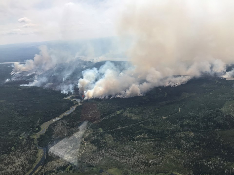 15 Cutoff Creek wildfire
