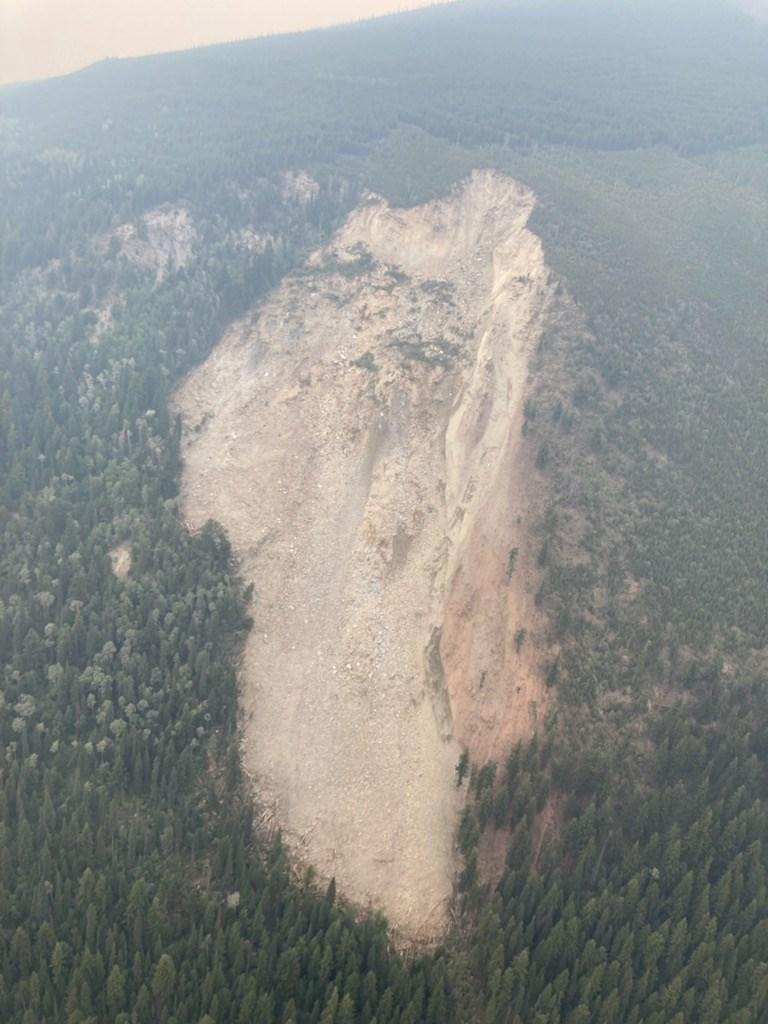 05 Swift Creek landslide Valemount