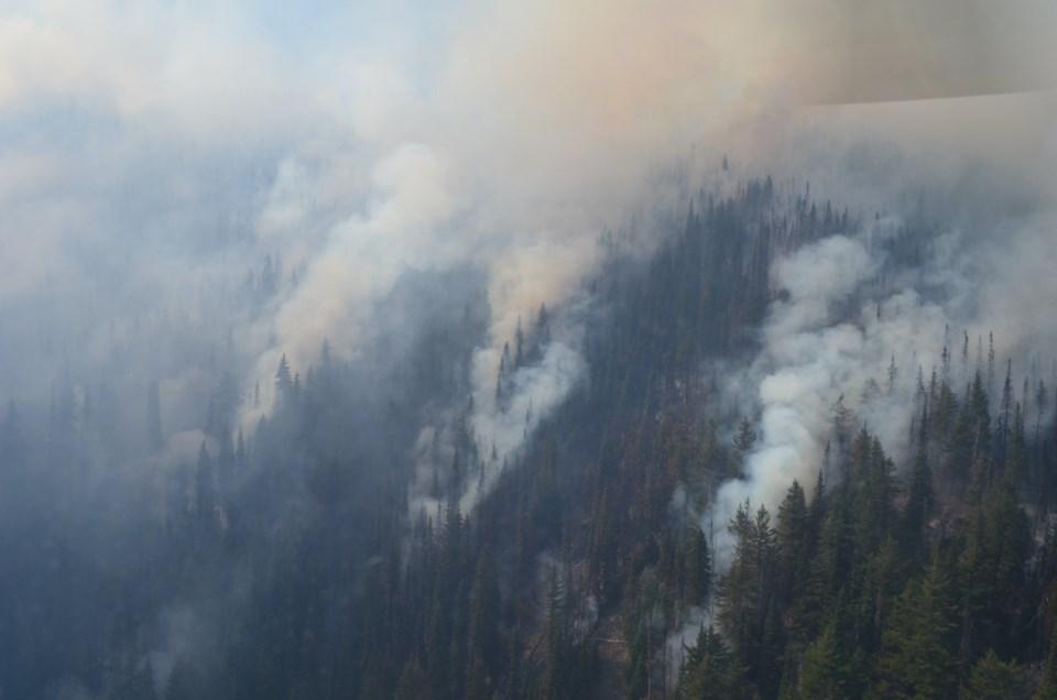 Mowhokam Creek wildfire