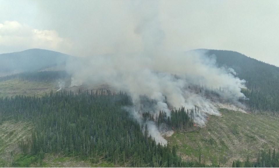 Tentfire Creek July 7