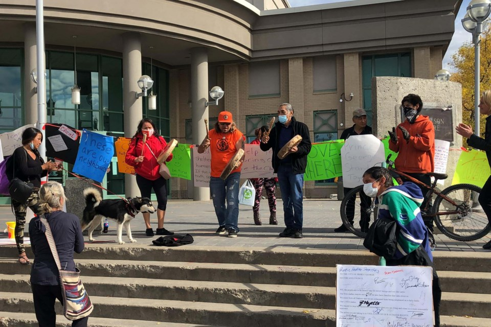 tent city injunction adjournment