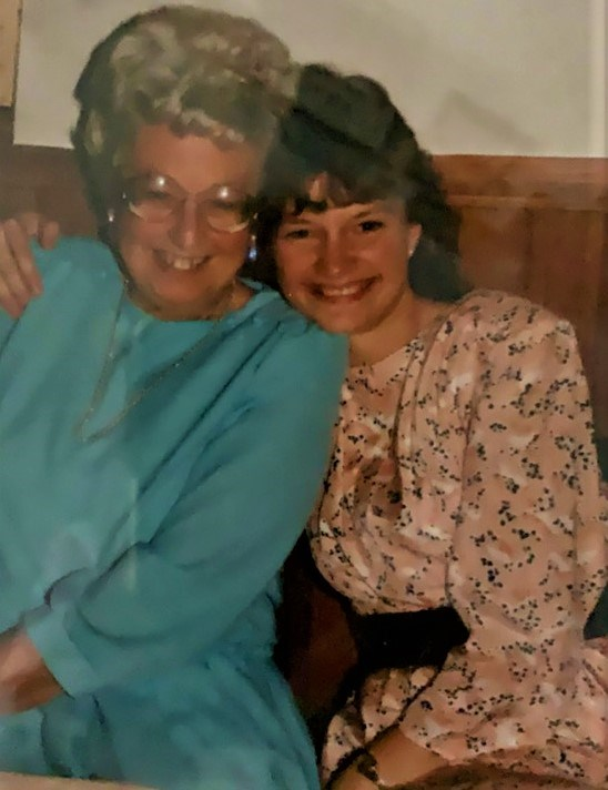 13 Mother's Day Louise Holmes and her mom