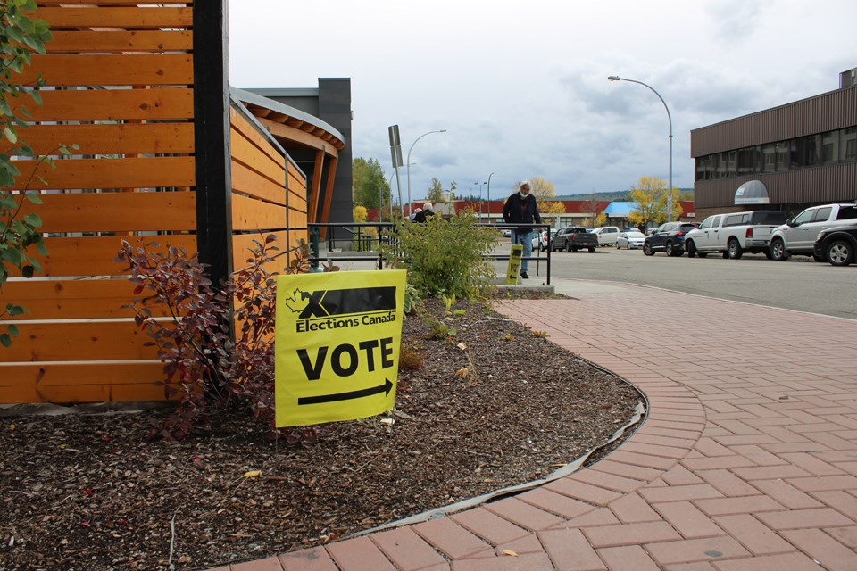 Prince George polling station 2