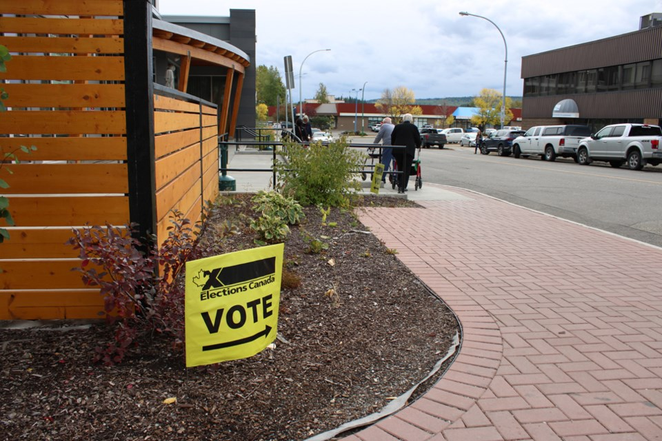 Prince George polling station
