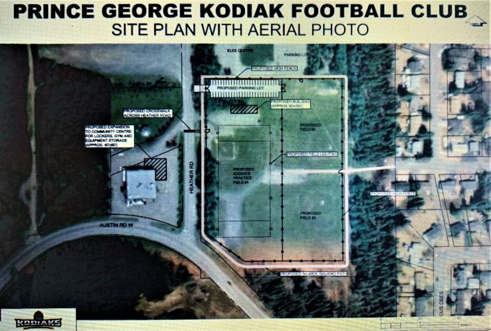 17 Heather Park football field