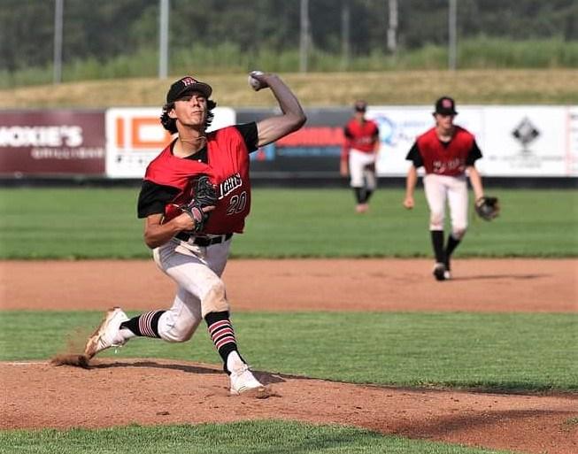 15 Knights pitcher Zach Fillion