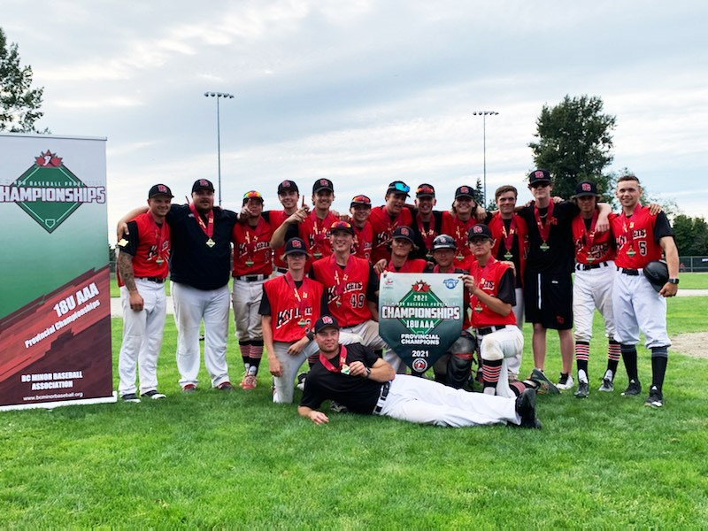 19 PG Knights triple-A prov champs in Ridge Meadows