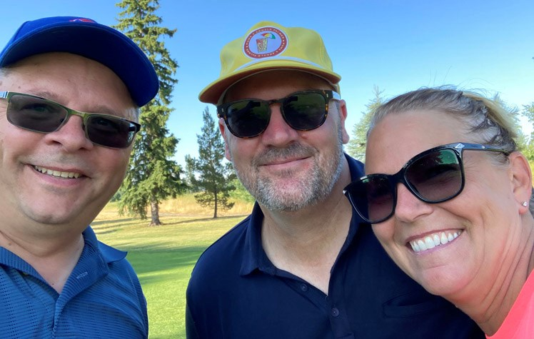 Golf with Godbout WEB