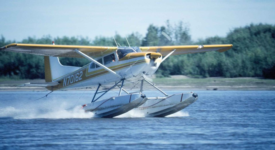 Cessna 185 floatplane