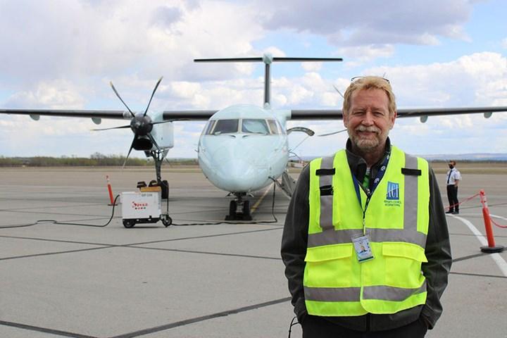 North Peace Regional Airport Managing Director Mike Karsseboom
