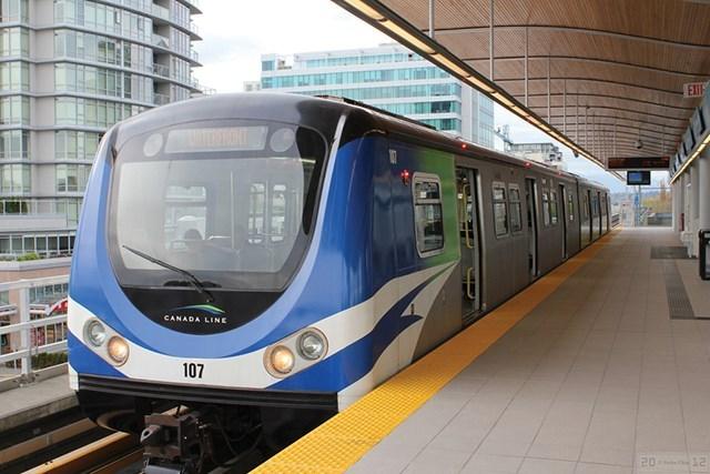 canada line richmond brighouse station