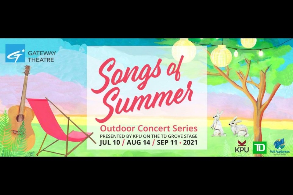 Gateway Songs of Summer concert will be held outdoors for the first time since the COVID-19 hit.