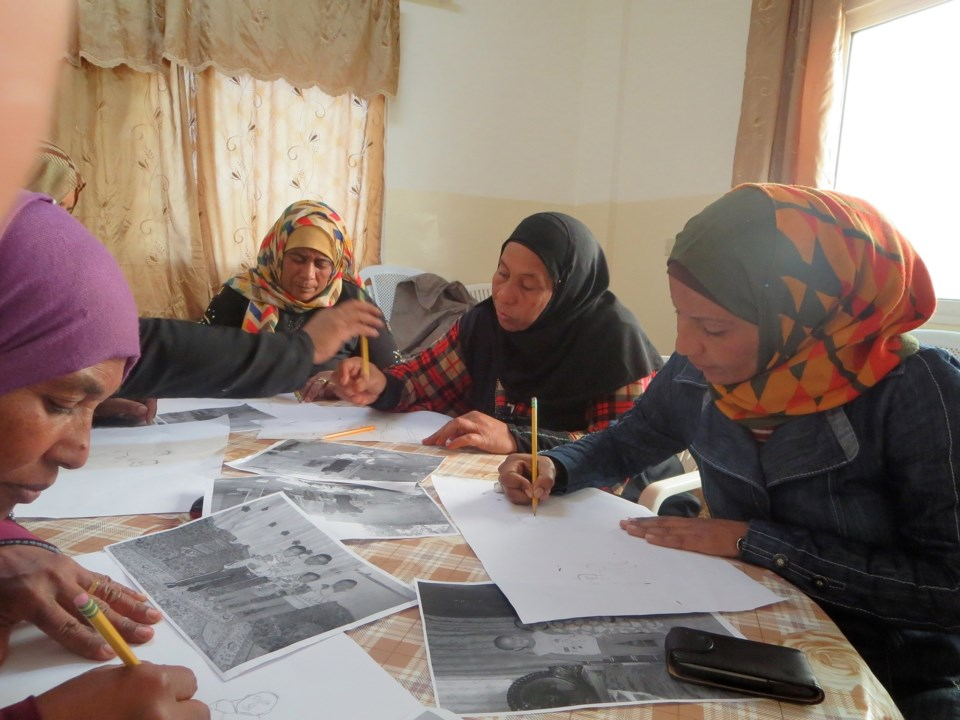 Women Southern Jordan Valley