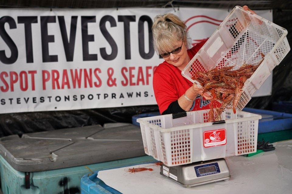 Steveston Spot Prawns has been participating in the annual spot prawn sales for six years and counting.