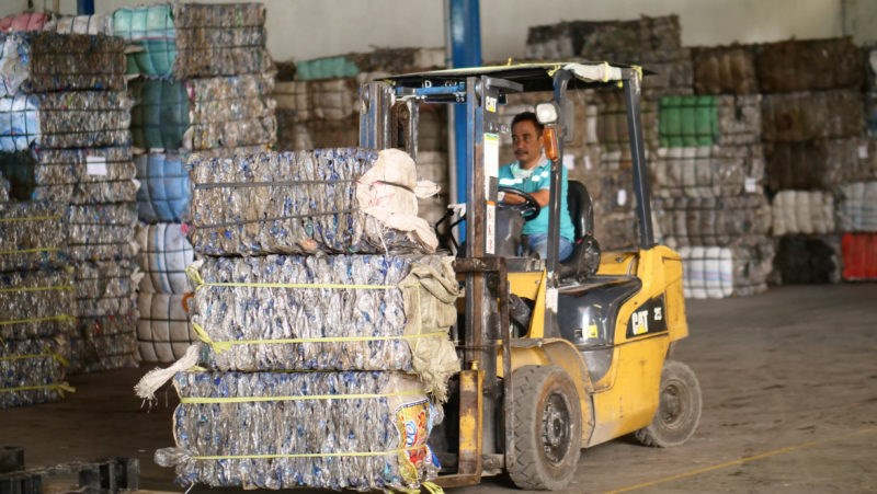 Tridi Oasis plastic recycling