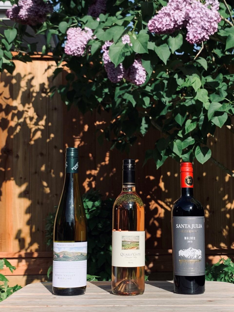 Aussie and Argentina wines
