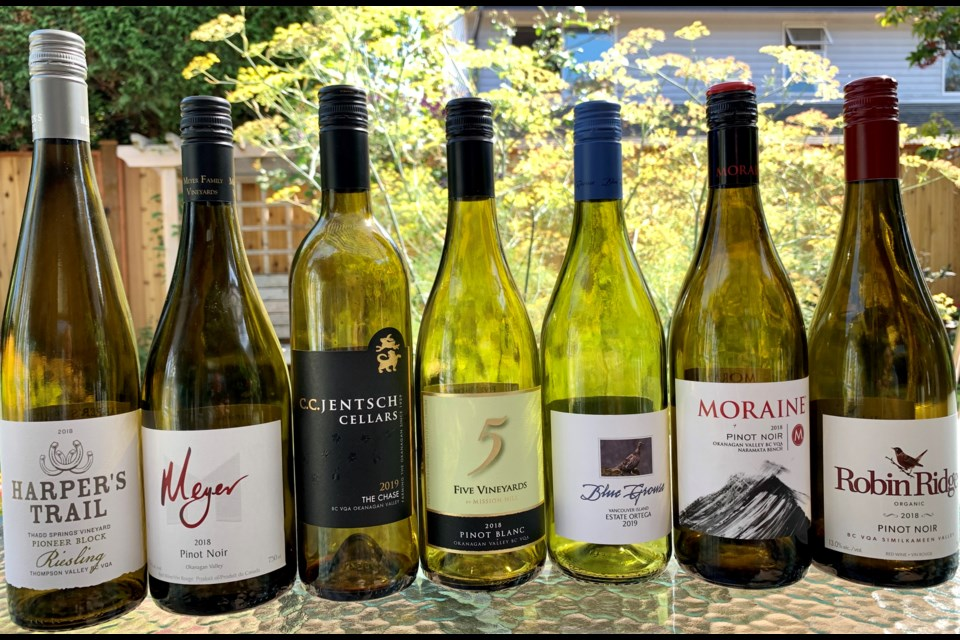There's lots to choose when selecting a BC wine with over 350 wineries in our province!