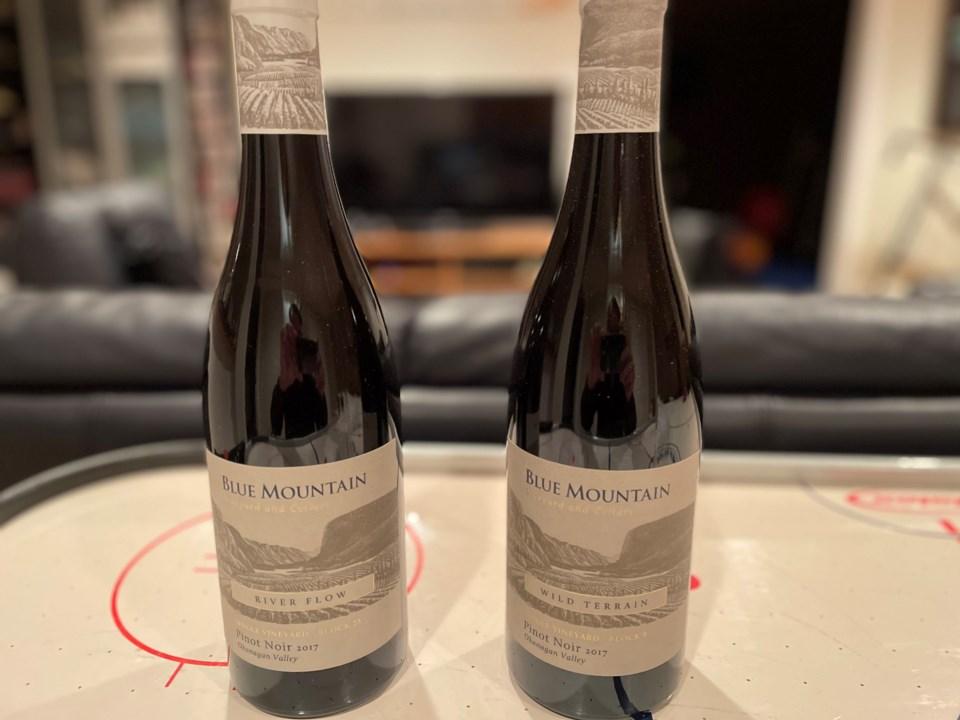 Blue Mountain Vineyard wines
