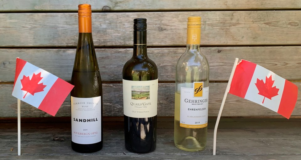 Canada Day wines