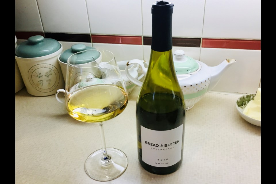 A new luscious Chardonnay from California.