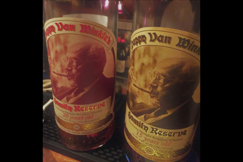 Wine columnist Tony Kwan has been fortunate enough to try  12-year, 15-year and 20-year bourbon offerings from Pappy.