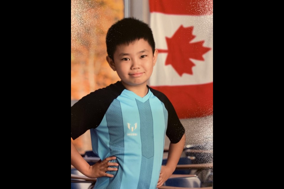 13-year-old Mike Huang was one of nine Canadian winners of a national Toyota dream car design contest
