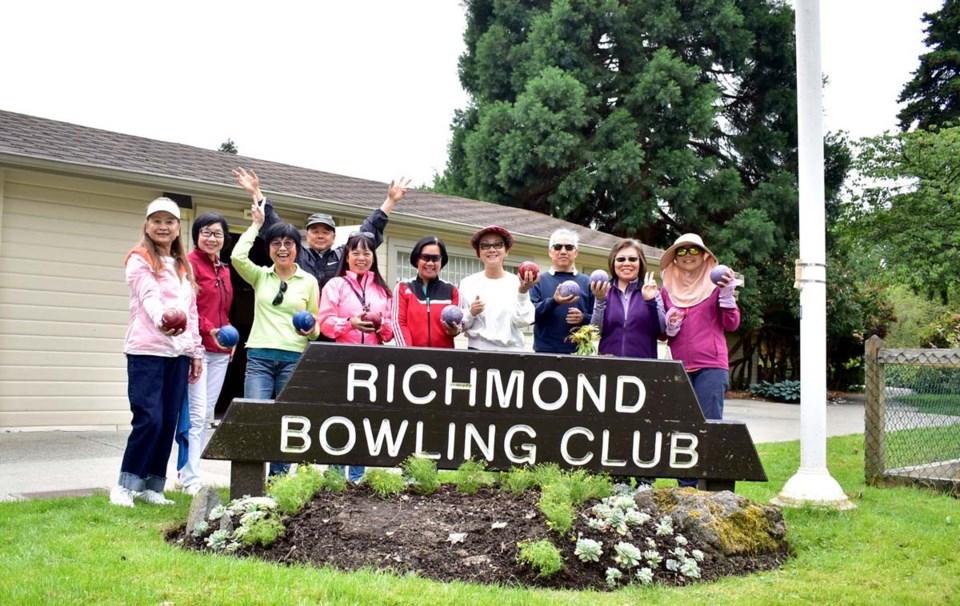 Lawn bowling clubhouse richmond