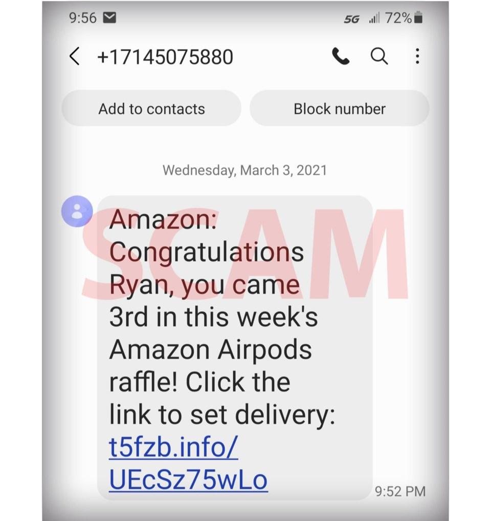 BBB Amazon Scam