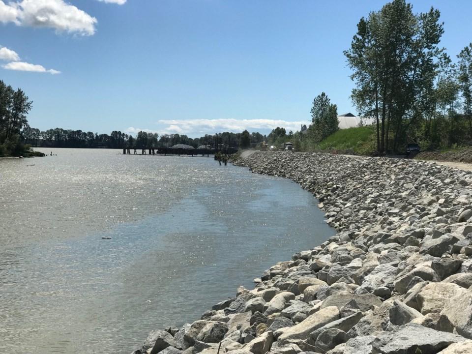 Richmond north dike