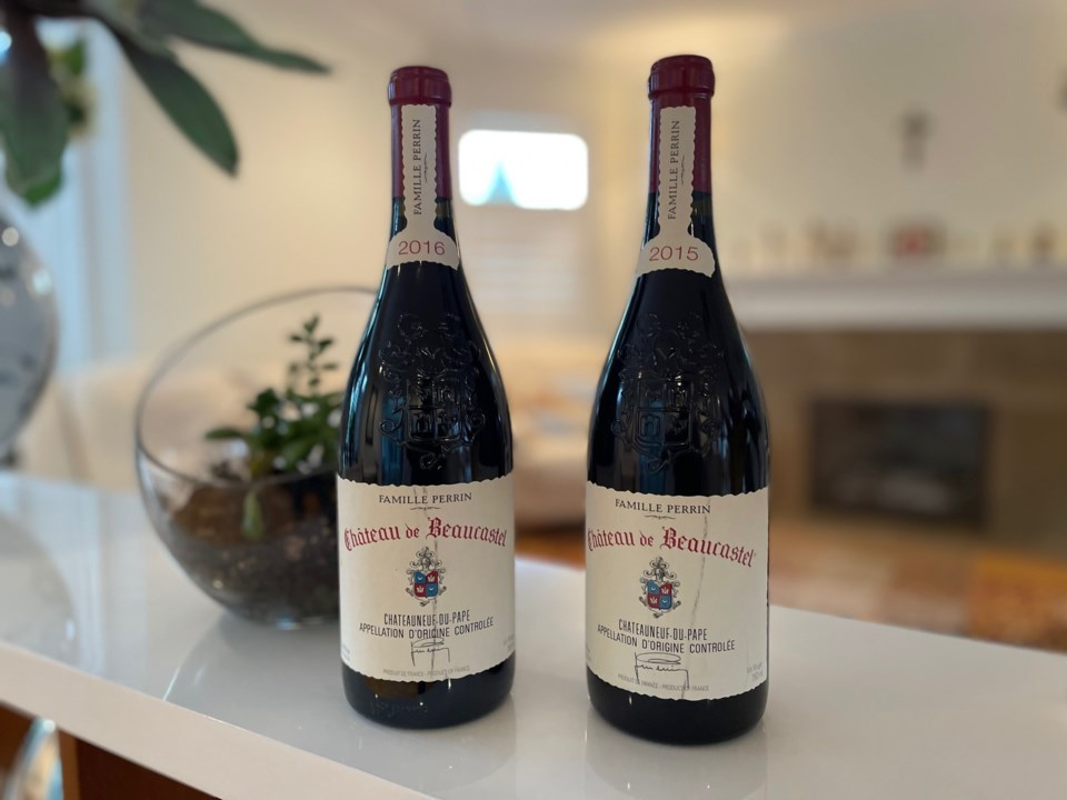 Chateau Beaucastel wines