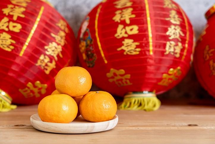 CNY - fruits