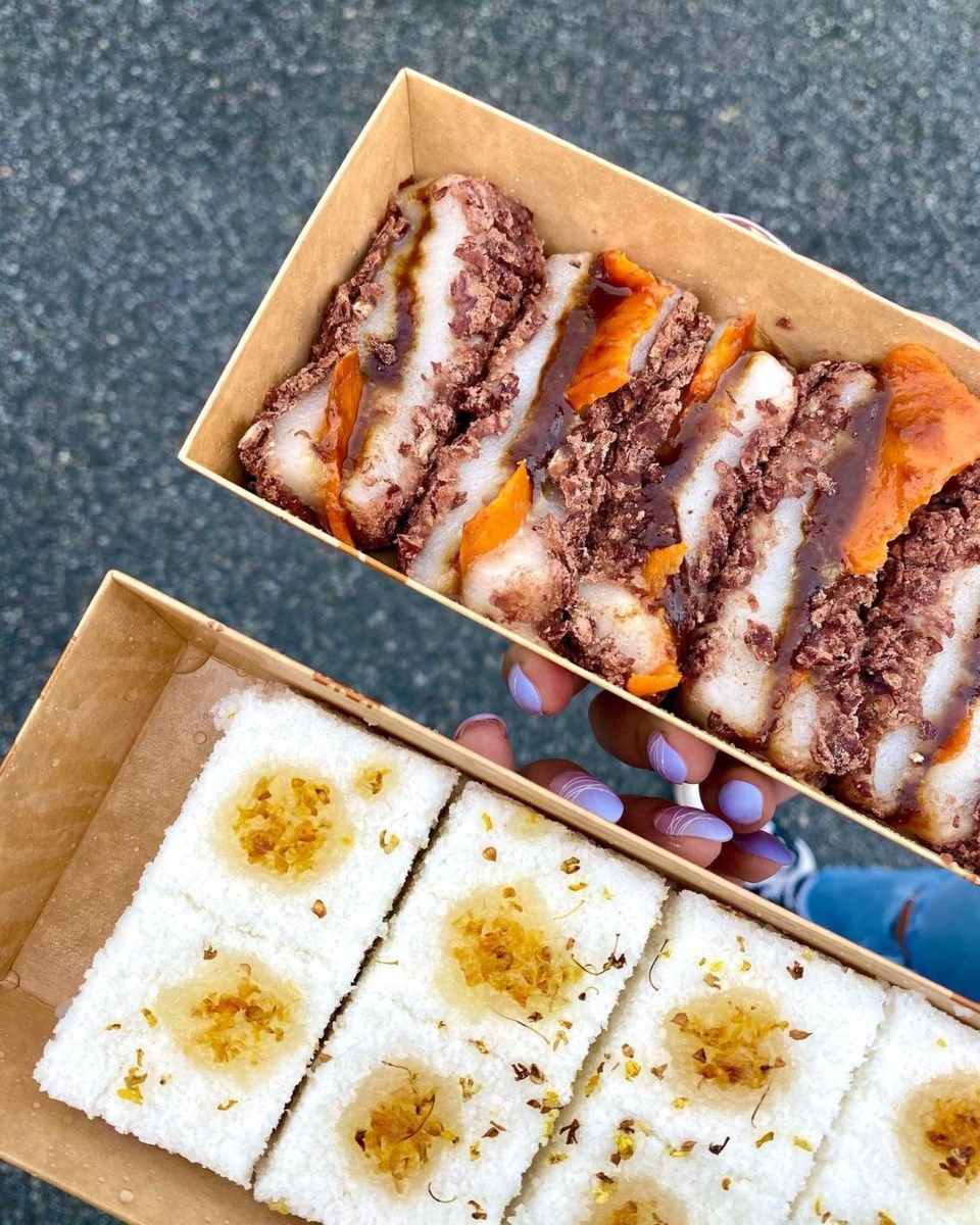 Nam Dae Moon rice cake