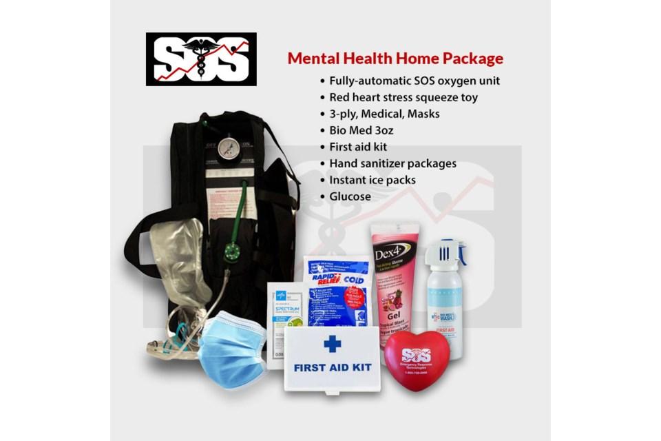 SOS technologies mental health first aid kit