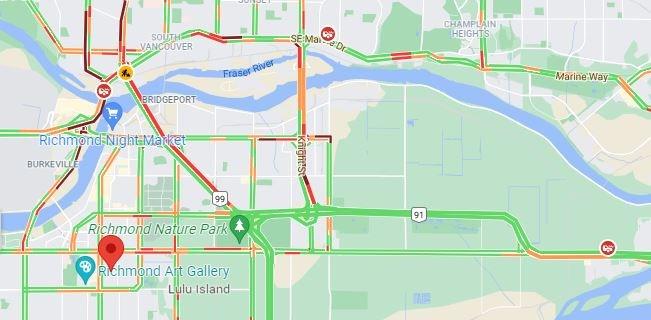 Traffic collisions in Richmond