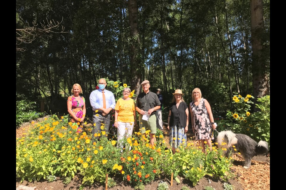 Our Saviour Lutheran Church on No. 4 Road in Richmond has officially opened its Community Pollinator Garden