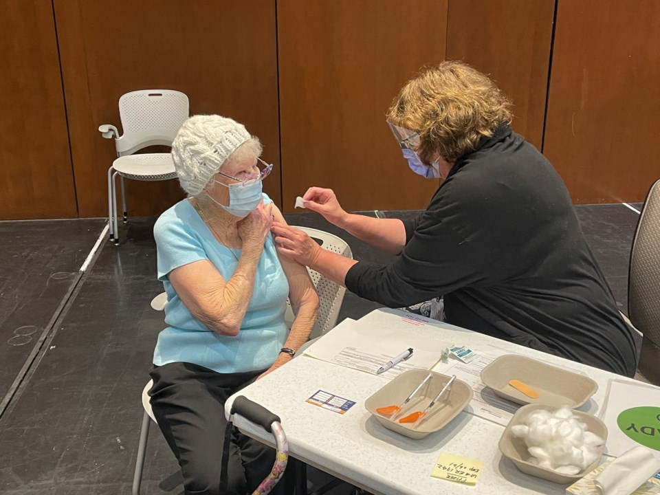 Pat Fleming COVID-19 vaccine