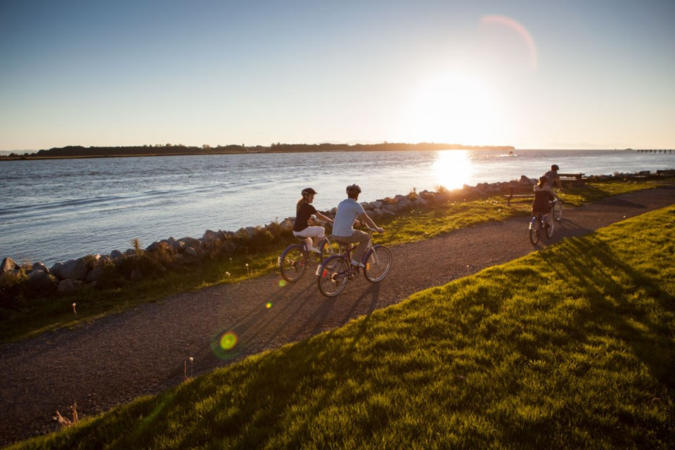 Rent a bike and explore the beautiful trails around Richmond this summer.