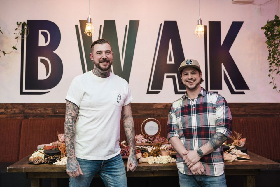 Chef Brandon Dac and Sean Fay, co-owners of Boy With a Knife.
