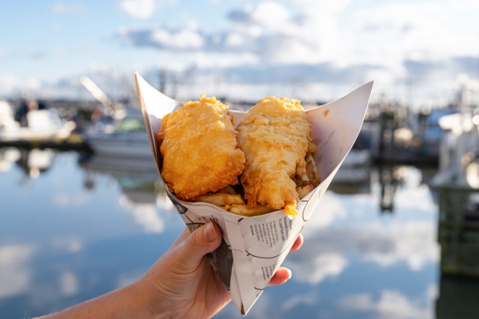 Try famous fish and chips from Pajo's.