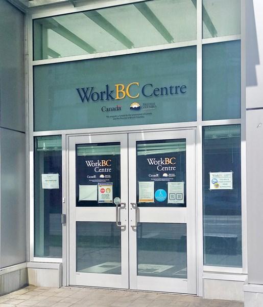 Front door image of WorkBC Richmond at 8111 Granville Avenue.