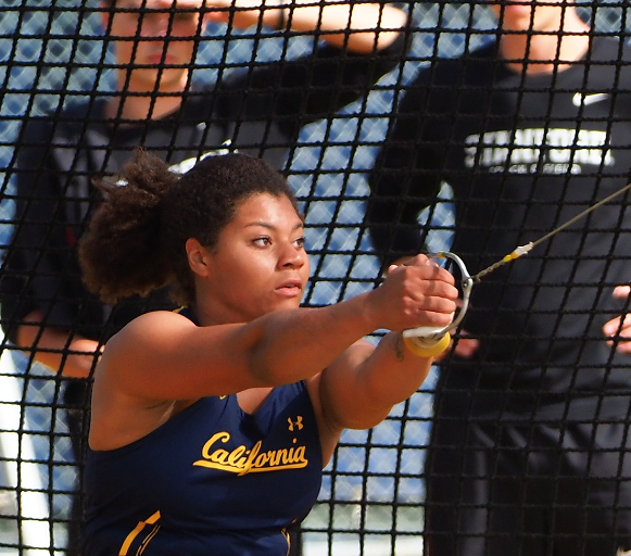 Camryn Rogers,  a senior at the University of California at Berkeley, won Junior Female Athlete of the Year.